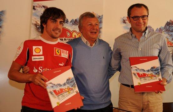 """Domenicali e Alonso: """"Wrooom un evento speciale"""""""