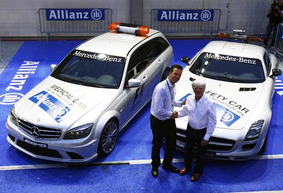 Allianz sponsor della Safety Car di Formula 1
