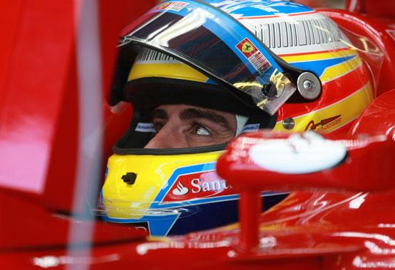 Alonso felice e sorpreso per la pole a Monza