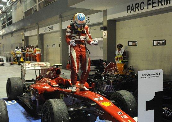 Ferrari: A Singapore una vittoria dai grandi numeri