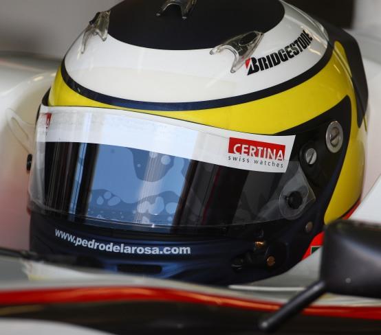 Pedro de la Rosa entusiasta per i test Pirelli