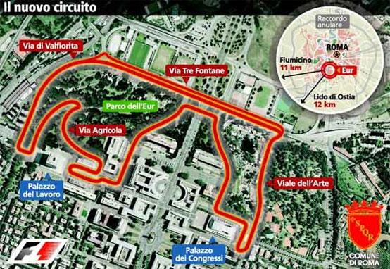 GP Roma di Formula 1: firmato l'accordo per cinque anni