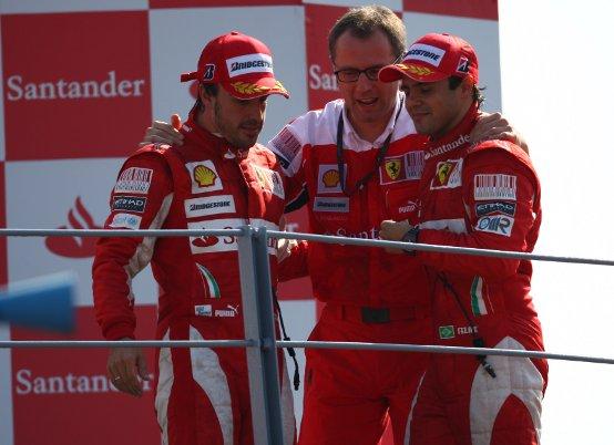 Massa: Fantastico essere sul podio di Monza!
