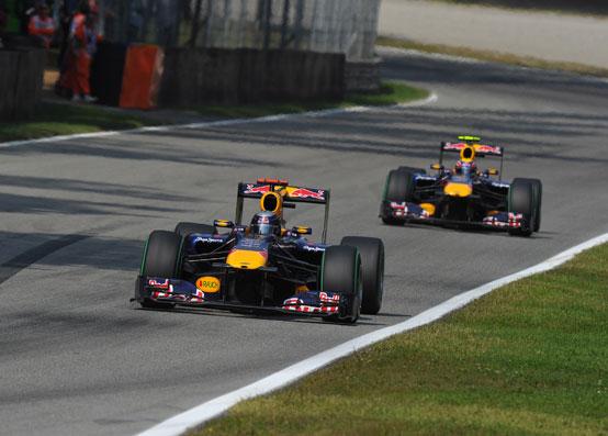La Red Bull limita i danni a Monza: Vettel quarto, Webber sesto