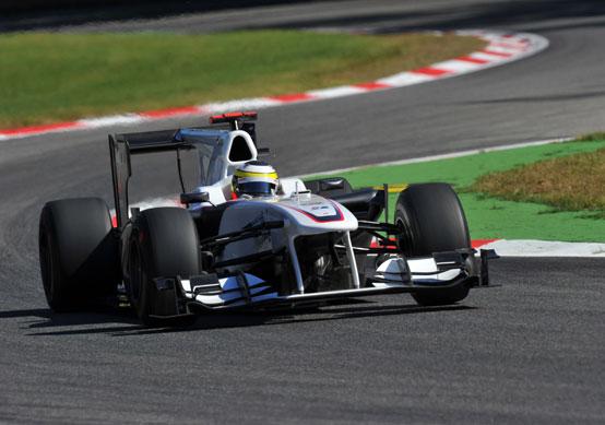 Sauber: prove libere difficili al GP Italia