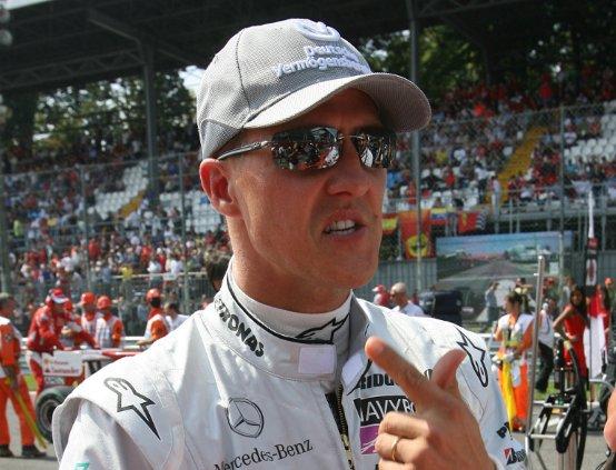 Schumacher non pensa di lasciare la F1
