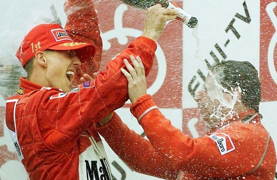 8 Ottobre 2000: La Ferrari torna sul tetto del Mondo