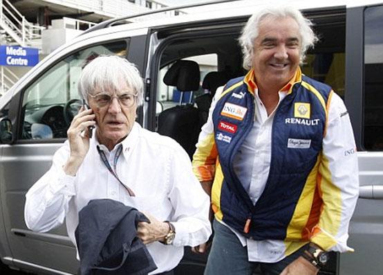 """Ecclestone: """"Briatore pronto a tornare in F1 per il bene dello sport"""""""