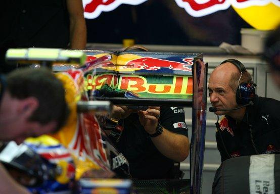 Red Bull modifica l'F-Duct per la Corea