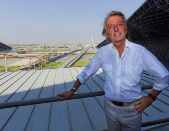 """Ferrari World Abu Dhabi. Montezemolo: """"Un sogno che diviene realtà"""""""