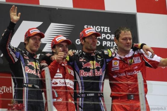 Pagelle del GP di Singapore