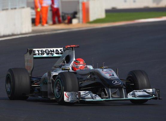 Schumacher: Piacevolmente sorpreso dalla pista di Yeongam