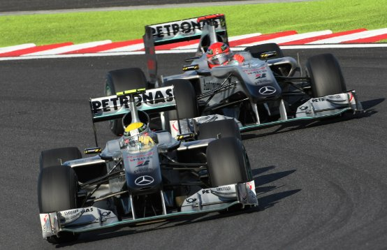 Schumacher: L'inconsistenza del 2010 non è solo colpa mia