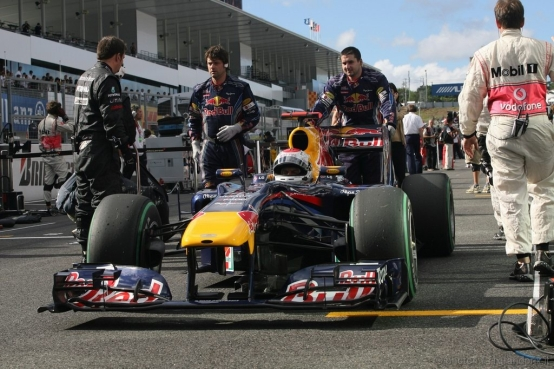 Vettel: partenza sospetta a Suzuka