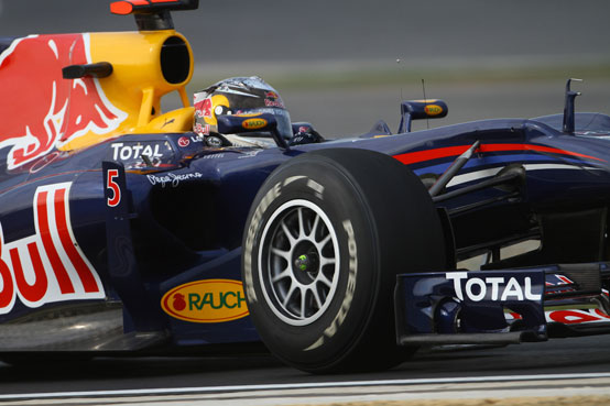 GP Corea, Vettel in pole davanti a Webber e Alonso