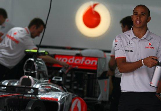Vodafone rinnova con McLaren fino al 2013