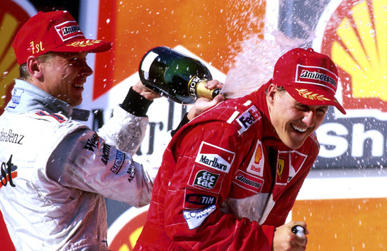 Hakkinen: Schumacher sta smantellando la sua immagine