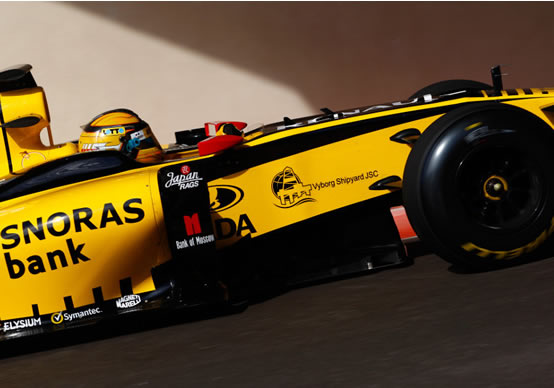 Kubica: Il test Pirelli ha dato un'idea di base