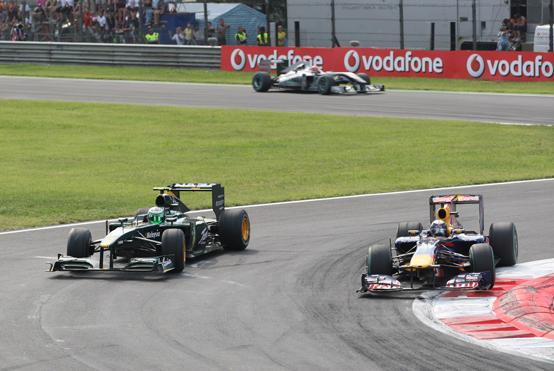 Lotus e Red Bull con motori Renault nel 2011