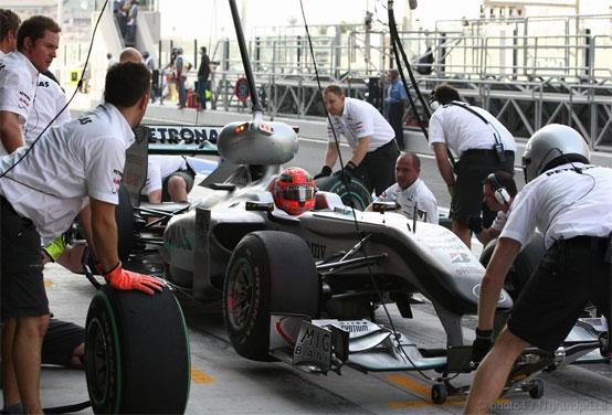 Mercedes: Schumacher e Rosberg penalizzati dalle gomme morbide in qualifica