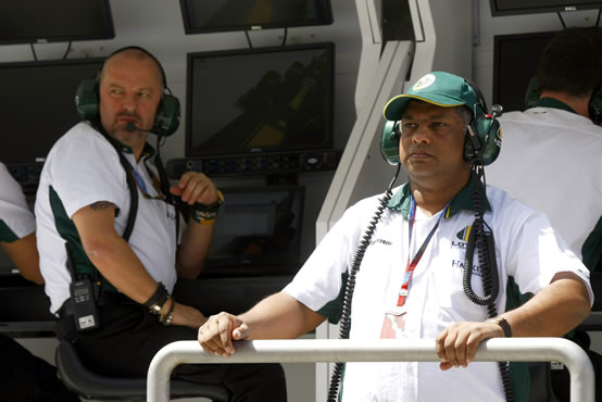 Fernandes: Siamo noi il Team Lotus