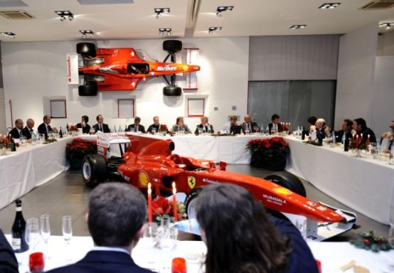 Ferrari: A Fiorano la cena con la stampa italiana di F1