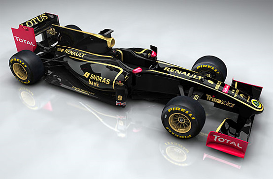 Lotus Renault GP Team: Group Lotus sponsor e azionista dell'ex team Renault in F1