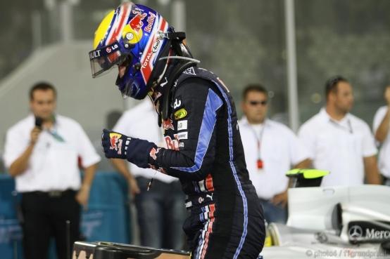 Mark Webber infortunato ad una spalla nelle ultime quattro gare