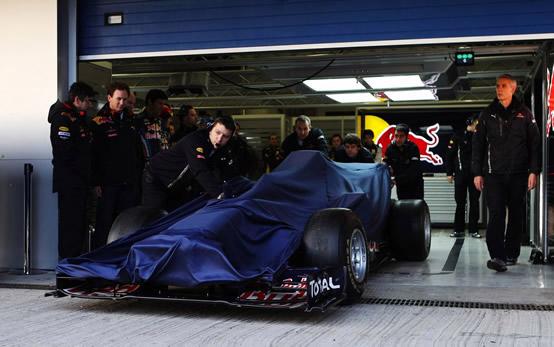 Red Bull conferma: RB7 in pista a Valencia