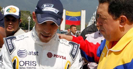 Maldonado prova la Williams in Venezuela