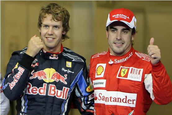 Titolo 2011: le quote dicono Alonso o Vettel