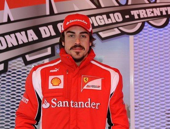 Ferrari: Prove di abitacolo per Alonso