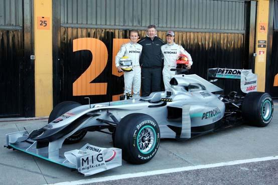Mercedes Gp: La W02 arriverà il 1° febbraio