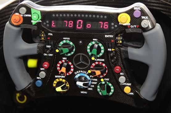 I volanti delle F1: troppa tecnologia?