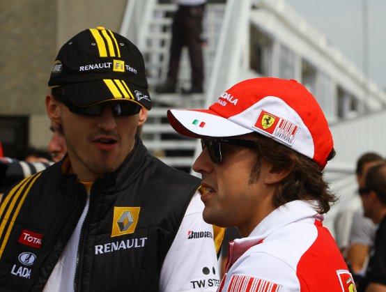 Alonso e Massa: Forza Robert, siamo con te!