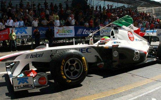 NEC nuovo sponsor Sauber