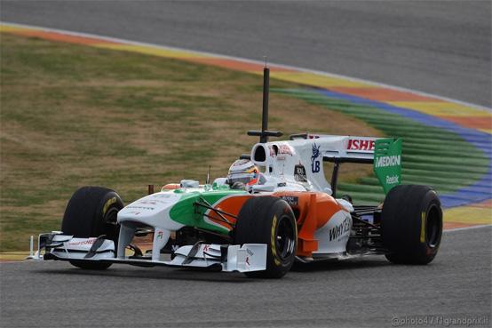 Force India: la nuova vettura sarà presentata martedì