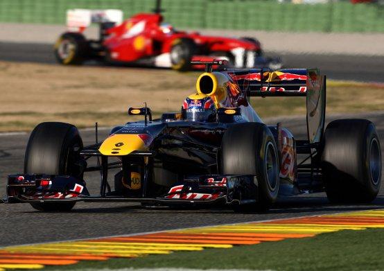 Red Bull: Seconda giornata di prove a Valencia