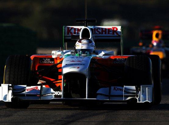 Force India: Sutil chiude i test a Valencia