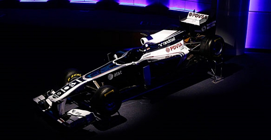 Williams FW33: svelata la livrea definitiva