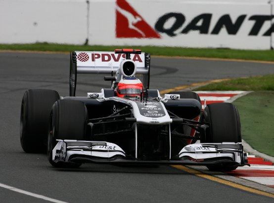 Williams: Barrichello e Maldonado soddisfatti dopo le prove libere in Australia