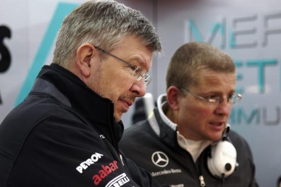Brawn: 'Ora la Mercedes è più lenta di un secondo'
