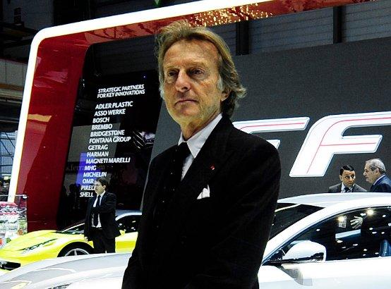 """Montezemolo definisce """"marziane"""" le regole della F1"""