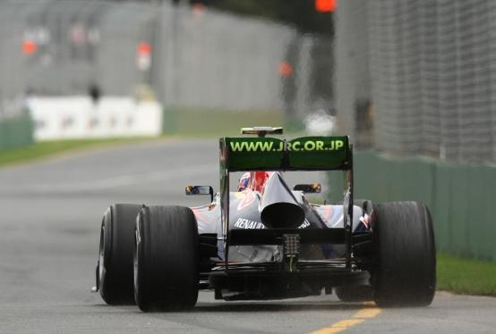 La Red Bull contraria all'ala posteriore mobile, la FIA la vieta in prova solo con la pioggia