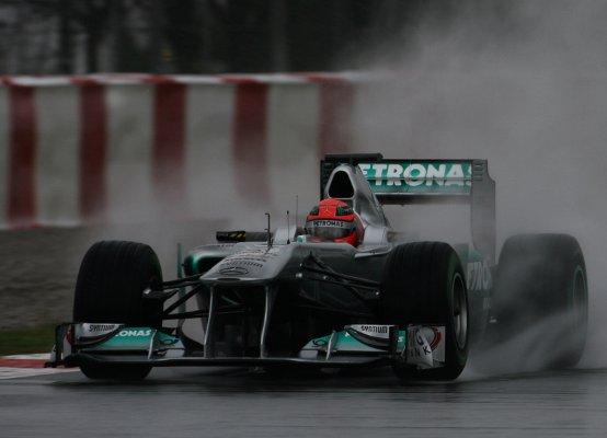 Schumacher e Rosberg soddisfatti dopo i test a Barcellona