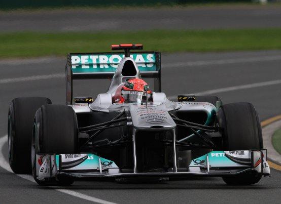 Schumacher e Rosberg soddisfatti delle Pirelli dopo le libere a Melbourne