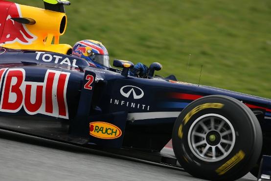 GP Australia, Prove Libere 1: dominio Red Bull, Webber precede Vettel