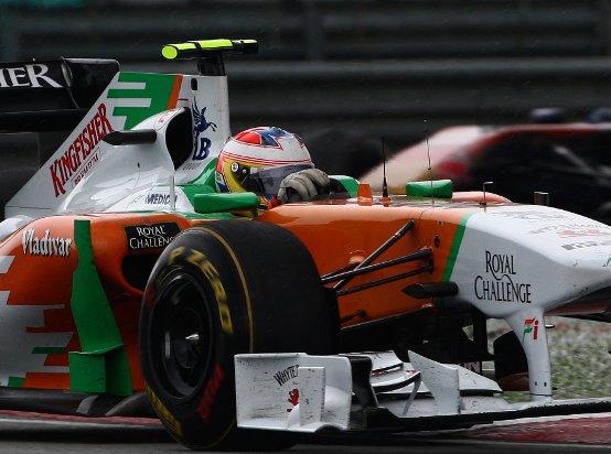 Force India: Un punto in Malesia con Paul di Resta