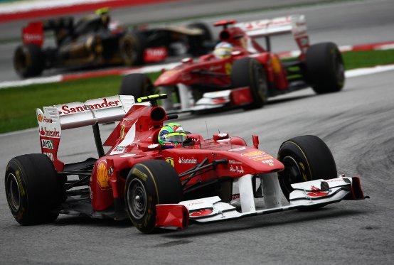 Ferrari: Da Sepang a Shanghai
