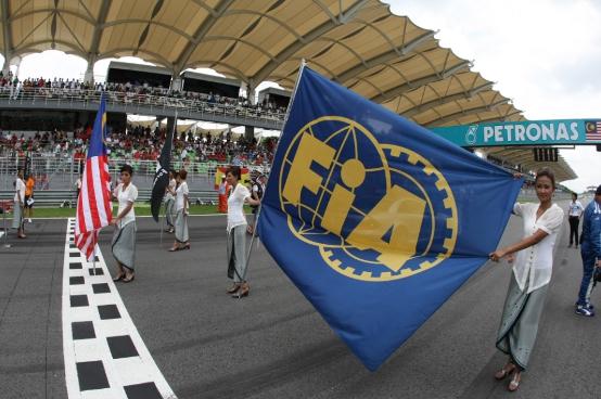 GP Malesia: la pole spostata sul lato destro della pista